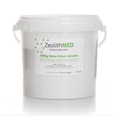 Ζεόλιθος MED® detox πολύ λεπτή πούδρα έως 10 μικρά - 1095 γραμμάρια