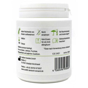 Ζεόλιθος MED® detox εξαιρετικά λεπτή πούδρα έως 10 μικρά - 60 γραμμάρια
