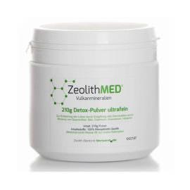 Ζεόλιθος MED® detox πολύ λεπτή πούδρα έως 10 μικρά - 210 γραμμάρια