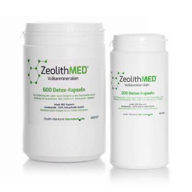 Ζεόλιθος MED® detox κάψουλες - 800 τεμάχια για 133 ημέρες