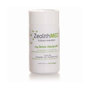 Ζεόλιθος MED® Πούδρα κατάλληλη για δερματική χρήση - 40 γραμμάρια