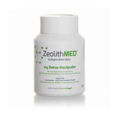 Ζεόλιθος MED® Πούδρα κατάλληλη για δερματική χρήση - 80 γραμμάρια