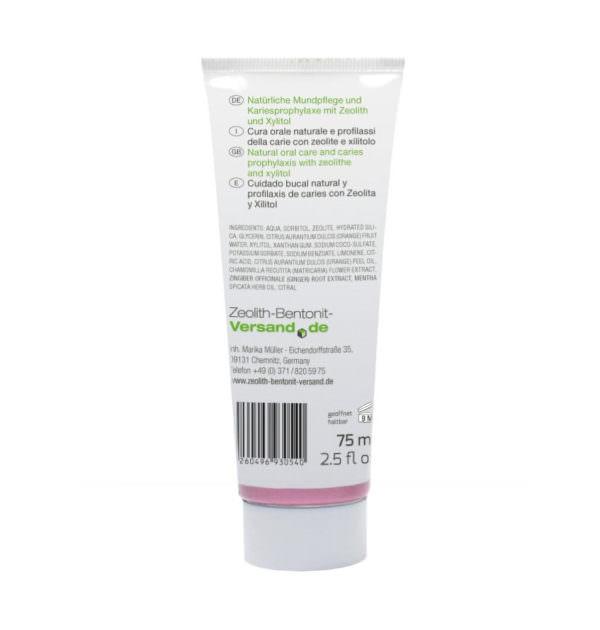 Ομοιοπαθητική οδοντόκρεμα με ζεόλιθο MED®, χωρίς φθόριο - 75 ml