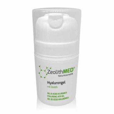 Gel υαλουρονικού οξέος με ζεόλιθο MED®, φυσική φροντίδα του δέρματος - 50ml