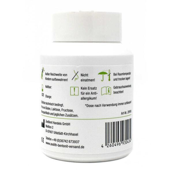 Ζεόλιθος MED® εξωτερικής χρήσης - 80 γραμμάρια - Φυσική αποτοξίνωση και καθαρισμός της επιδερμίδας