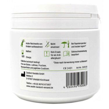 Ζεόλιθος MED® detox εξαιρετικά λεπτή πούδρα έως 10 μικρά - 210 γραμμάρια
