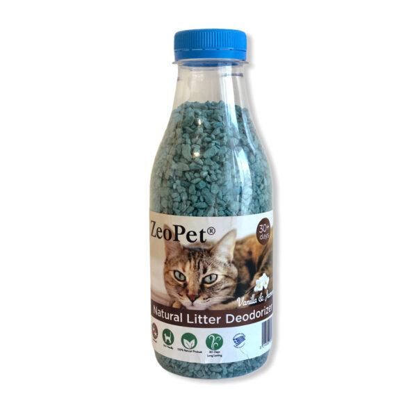 ZeoPet - Φυσικό πρόσθετο απόσμησης λεκάνης γάτας - 500gr