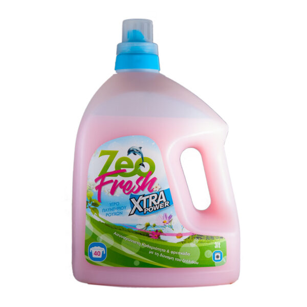 ZeoFresh - Υγρό απορρυπαντικό πλυντηρίου ρούχων - 3 λίτρα