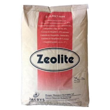Ζεόλιθος έως 0,063 χιλιοστά – Πολύ λεπτή πούδρα, η πιο λεπτή διαθέσιμη κοκκομετρία - 25 κιλά