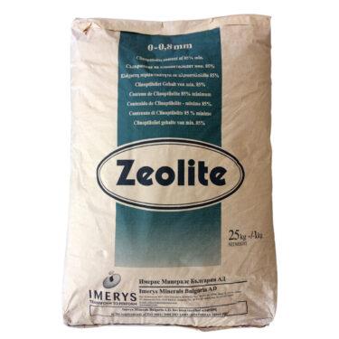 Ζεόλιθος έως 0,8 χιλιοστά – Πούδρα, ιδανική για ενσωμάτωση σε καλλιέργειες μικρής κλίμακας και κτηνοτροφική χρήση - 25 κιλά