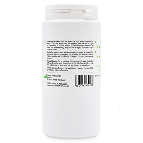 Ζεόλιθος MED® και Μπεντονίτης MED® - Κάψουλες - 200 τεμάχια