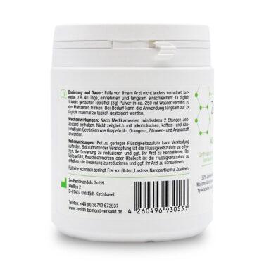 Ζεόλιθος MED® detox, Μπεντονίτης MED® detox και Πίτουρο από βιολογικό Ψύλλιο - Μίγμα - 400 γραμμάρια