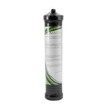 Ανταλλακτικό φίλτρο άνω πάγκου με ζεόλιθο και ενεργό άνθρακα - 2300 λίτρα νερού - AquaMetix® - 2μm - συμβατό με συσκευές HCP, HIP, HIS και HCS