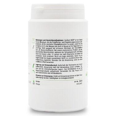 Ζεόλιθος MED® και Μπεντονίτης MED® μίγμα - πολύ λεπτή πούδρα έως 27 μικρά – 200 γραμμάρια